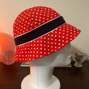 Accessories - NEW! Youth polka adorned Bucket Cap